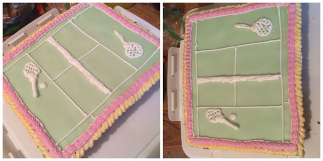 Photograph of Mary Berry's Tennis Cake