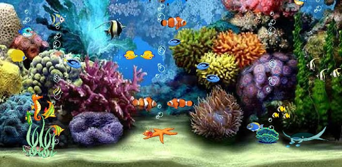 Aquarium 3D Live wallpaper download For android free. ~ Androidours.com