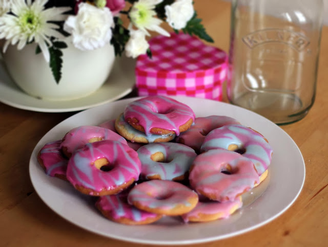 homemade party rings vegetarian