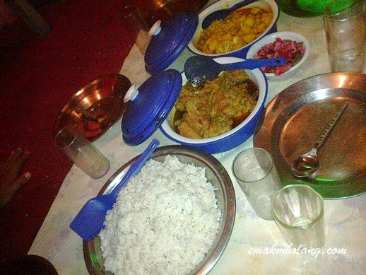 India Food, Kashmir