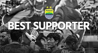 Bobotoh Persib Suporter Terbaik Piala Presiden 2018