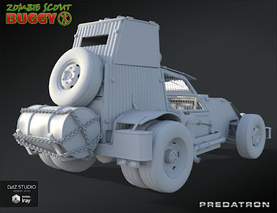 Zombie Scout Buggy