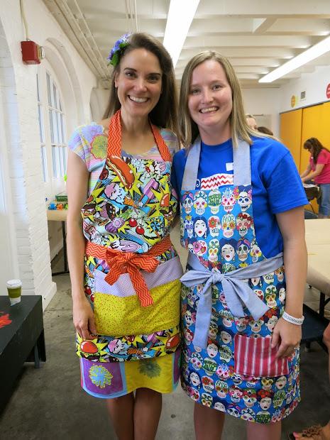 Cassie Stephens Art Teacher Apron