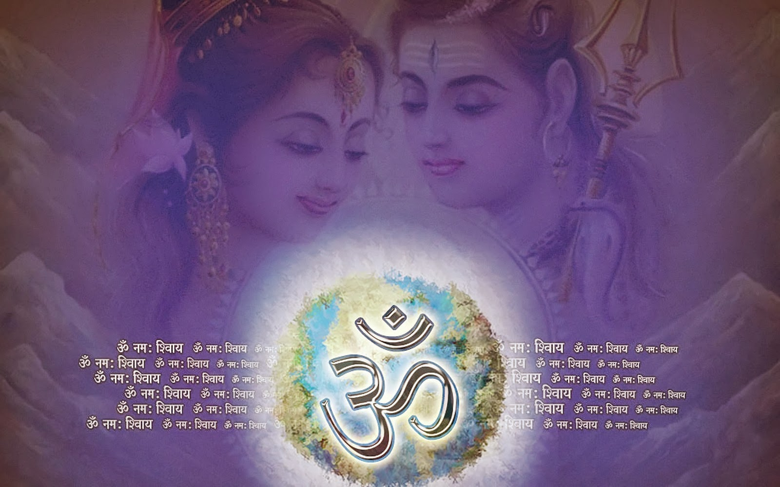High Definition Of Mahadev Wallpaper Download: Har Har Mahadev And Parvati Ji Om HD Wallpaper
