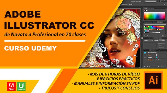 Curso Adobe Illustrator CC de Novato a Profesional en 70 clases