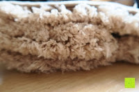 """Stoff: Norcho Weiche Mikrofaser Badematte Luxus Rutschfest Antibakteriell Gummi Teppich 27""""x18"""" Khaki"""