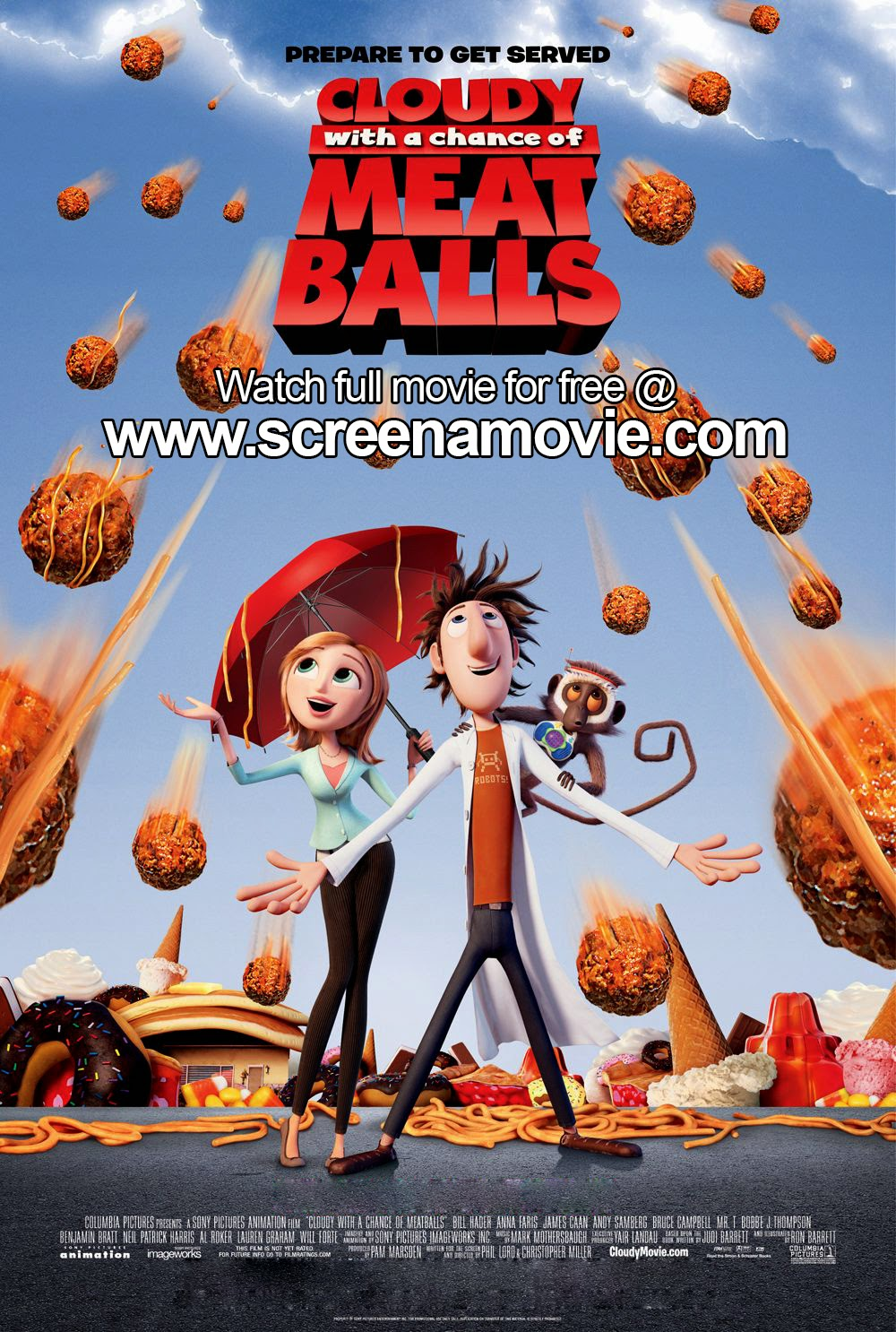 Cloudy with a Chance of Meatballs [Full Movie] #FREEONLINEMOVIE