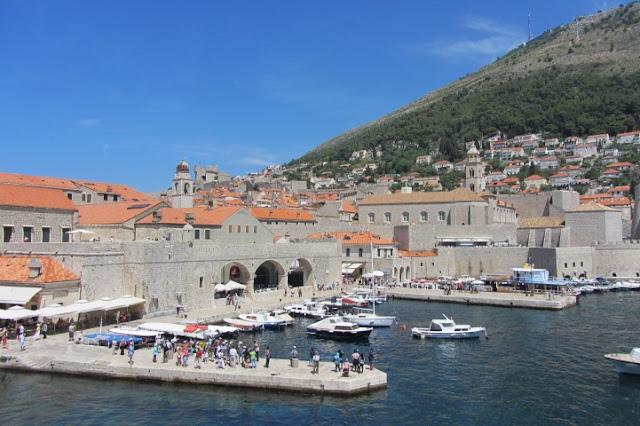 Dubrovnik, zicht op de stad