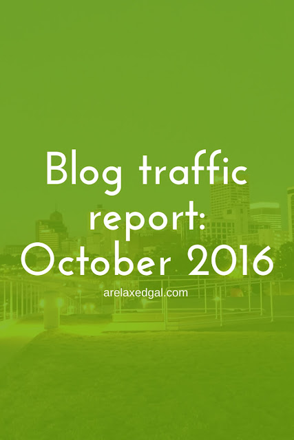 October is now done so I'm sharing my blog wins and losses, what I learned and FREE printables for tracking your blog and social channel stats each month. | arelaxedgal.com