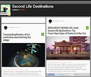 Best Second Life Destination and Travel Web Site