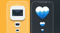 MASTER APP ICON DESIGN FOR IPHONE (IOS) & ANDROID DEVICES [UDEMY