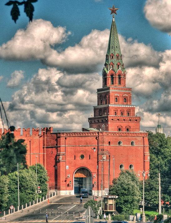 лишь боровицкая башня московского кремля фото пчелы