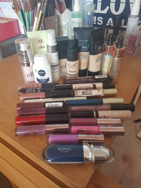 Mixing All Of My Liquid Makeup Together