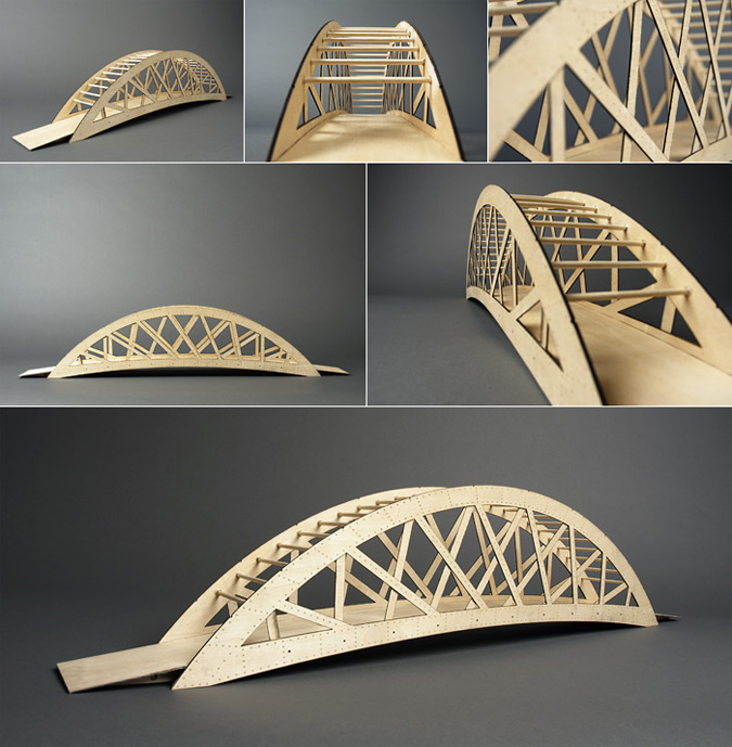 Bridge River Picture Bridge Model
