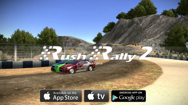 Download Rush Rally 2 APK OBB MOD V1.118