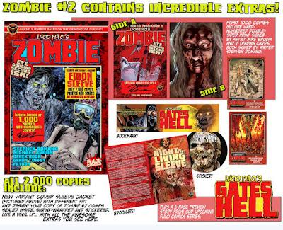 Lucio Fulci's ZOMBIE #2 - contenuti extra (limited edition)