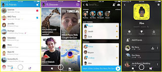 A huge redesign to Snapchat