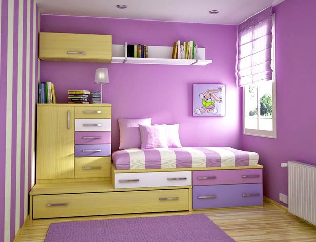 contoh gambar desain kamar tidur minimalis terbaru dan menarik