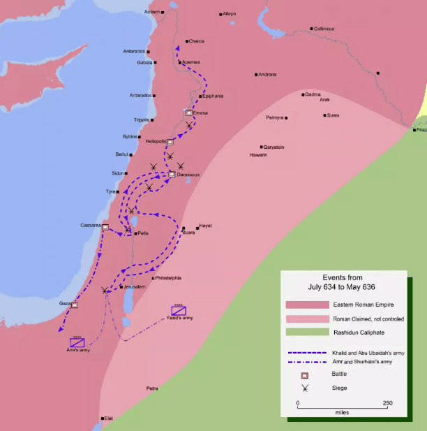 Penaklukan Levant Tengah