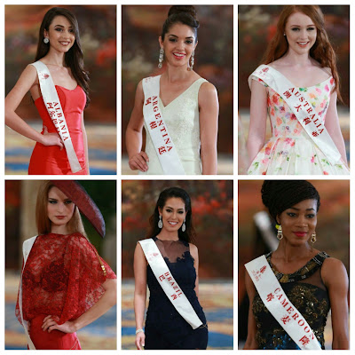 Miss World 2015 Top Model - The Top 30 Finalists #MissWorld2015