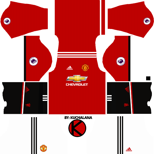 Manchester United Kits 2017/2018 - Dream League Soccer - Kuchalana