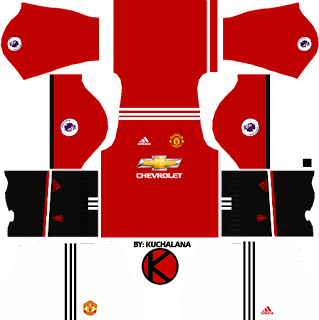 Manchester United Kits 2017/2018 - Dream League Soccer