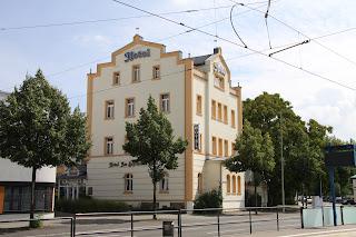 """""""Hotel am Bayrischen Platz"""", früher """"Hotel Hochstein"""""""