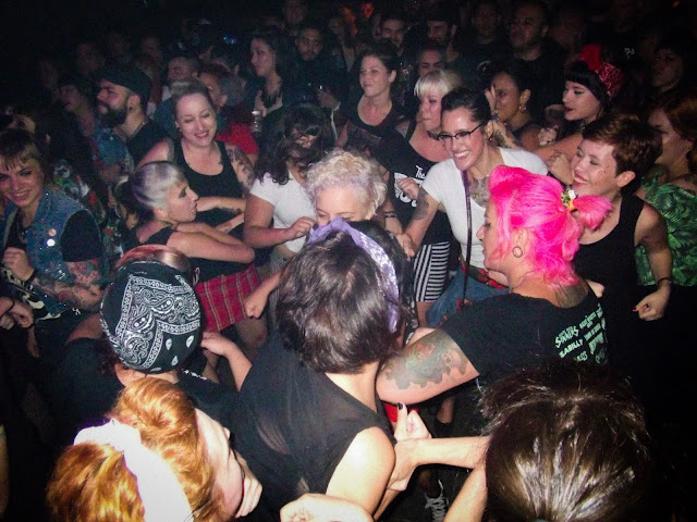 Girl Wrecking no Show das Diabatz no Psychobilly Brasil 2017