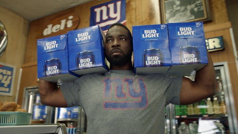 Nfl team cans are back in bud lights new tv ad featuring fans bo nfl team cans are back in bud lights new tv ad featuring fans bo jackson mozeypictures Gallery