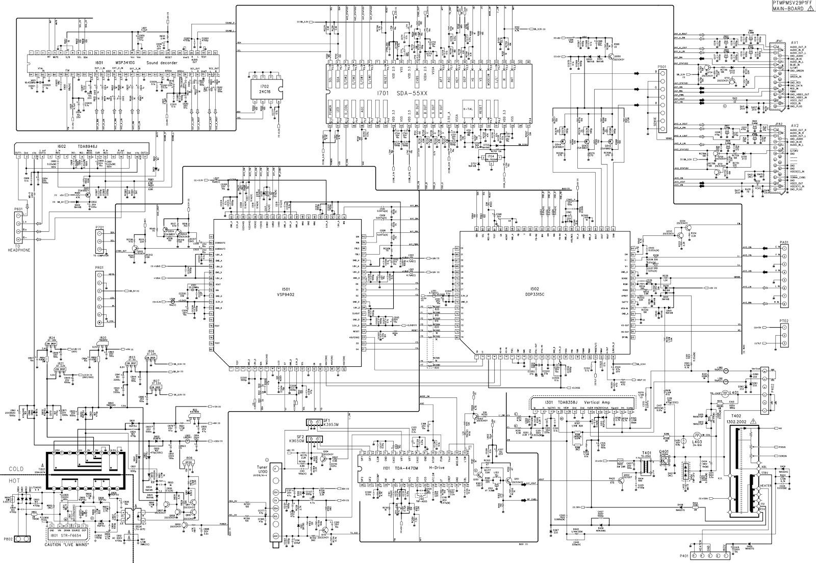 Crt Tv Diagram - Wiring Diagrams
