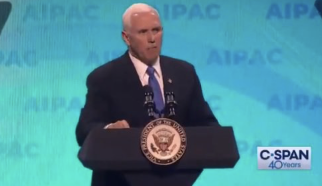 """Anti-Semitism Has No Place in Congress!"" – VP Mike Pence Calls for Ilhan Omar's Removal from the Foreign Affairs Committee at AIPAC (VIDEO)"