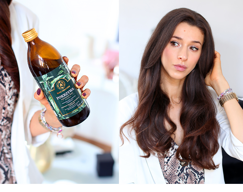 czy picie pokrzywy pomaga na wypadanie włosów