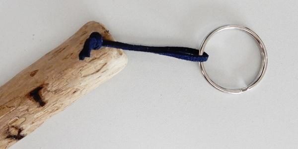 DIY : porte-clés en bois flotté