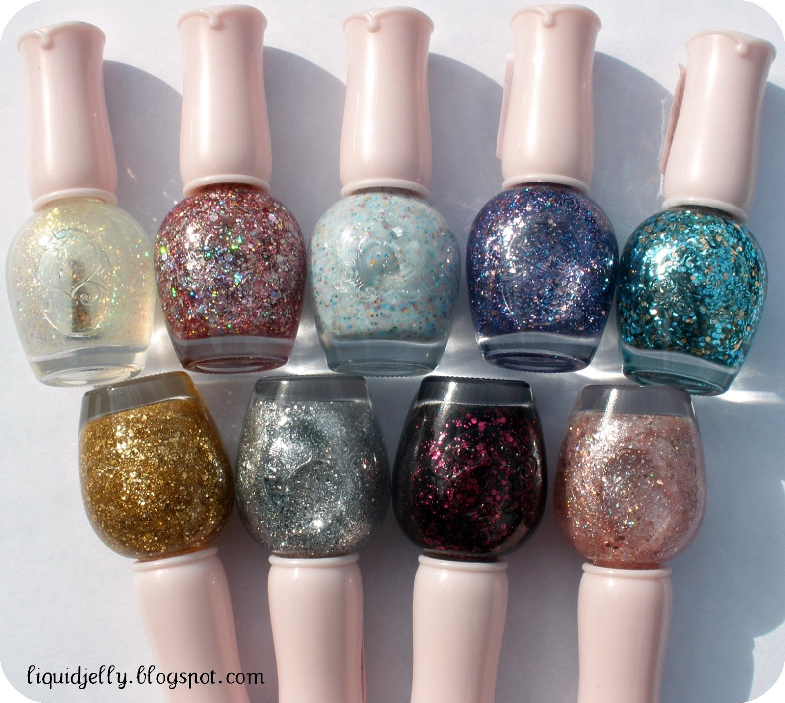 Liquid Jelly: Etude House Nail Polish Haul