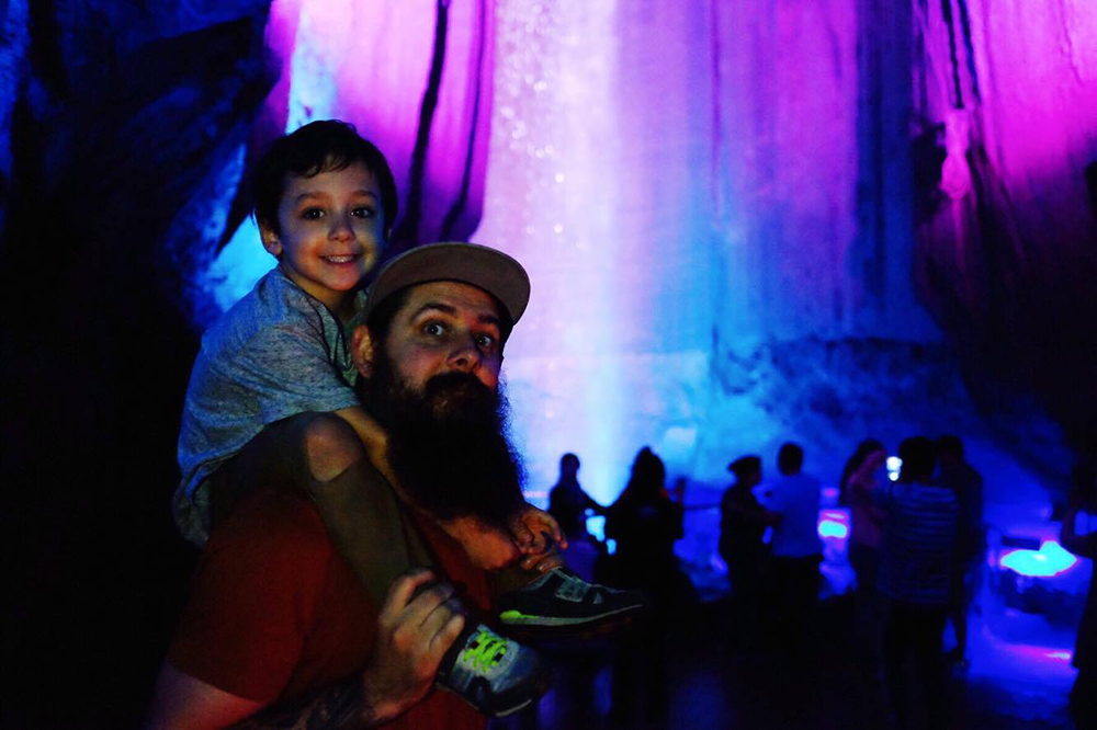 ruby falls with kids