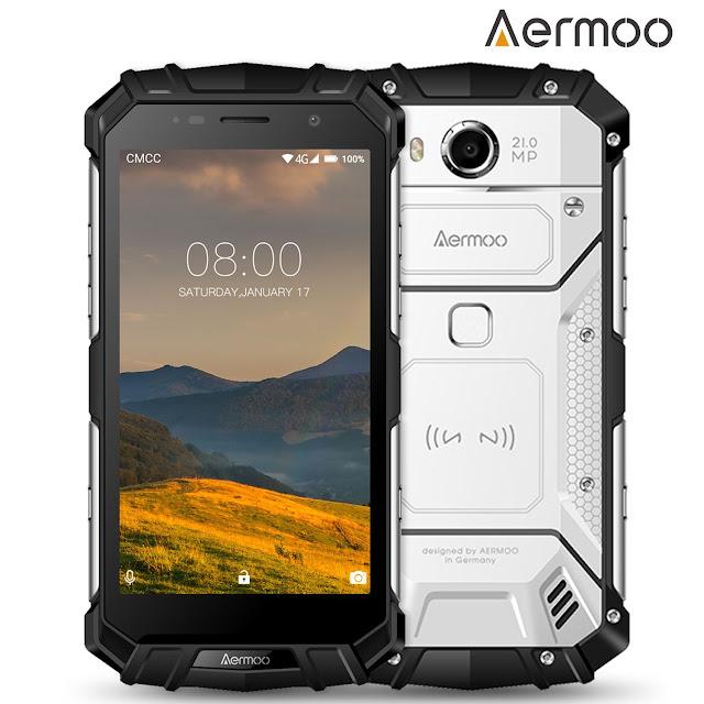 Telefoni Impermeabili Cellulare Indistruttibile Aermoo M1