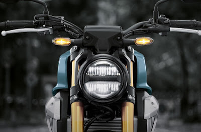 Lampu Honda CB150R ExMotion - Retro tapi sudah LED