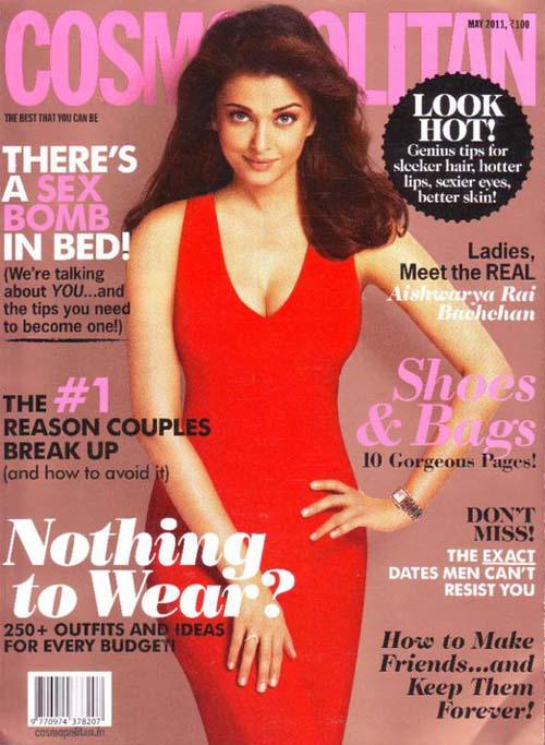 10 Dazzling Magazine Cover Pics Of Aishwarya Rai