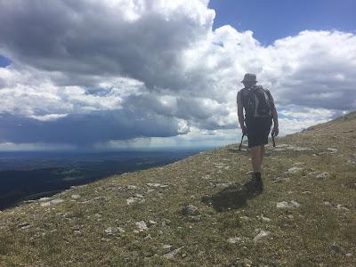 Hiking moose mountain