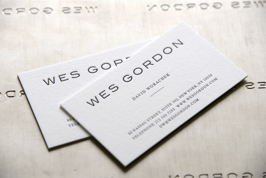 Raised Ink Business Cards - Business Card Tips