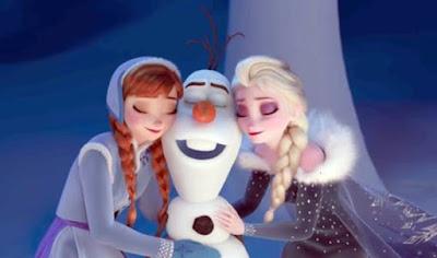 Gambar Film Olaf Frozen Adventure 2017 Walt Disney Animasi Bergerak