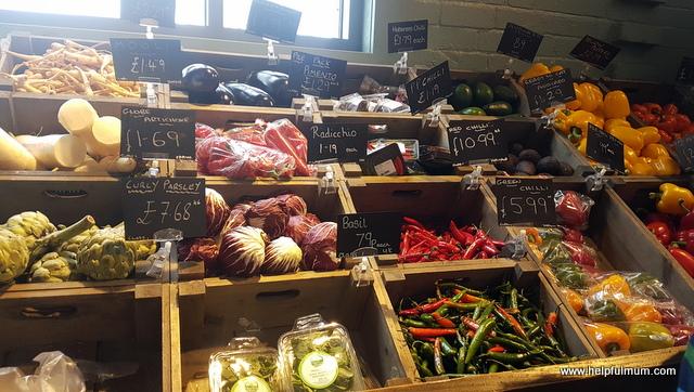 Fresh vegetables Keelham Farm