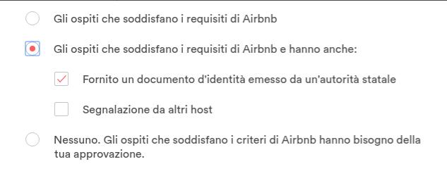 documenti ospiti airbnb