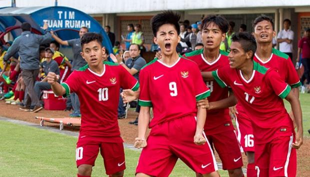 Indonesia Bertemu Australia di Perempat Final AFC U-16 2018