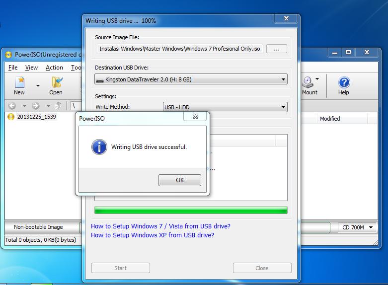 Bagaimana Membuat Master Install Windows 7 di Flashdisk