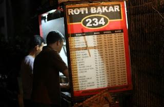 Roti Bakar 234 Gang Kote