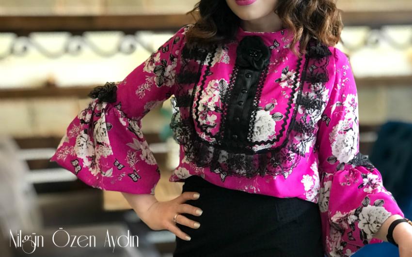 Balon Kollu Bluz Dikimi-bluzler-dikiş blogu-diktiklerim