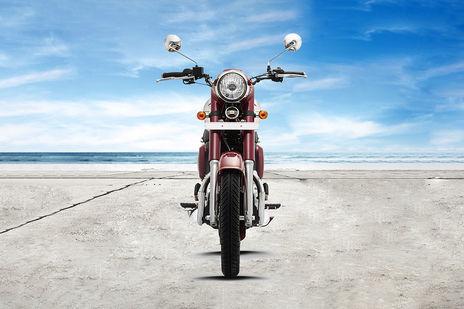 New 2019 Jawa 300 front show image