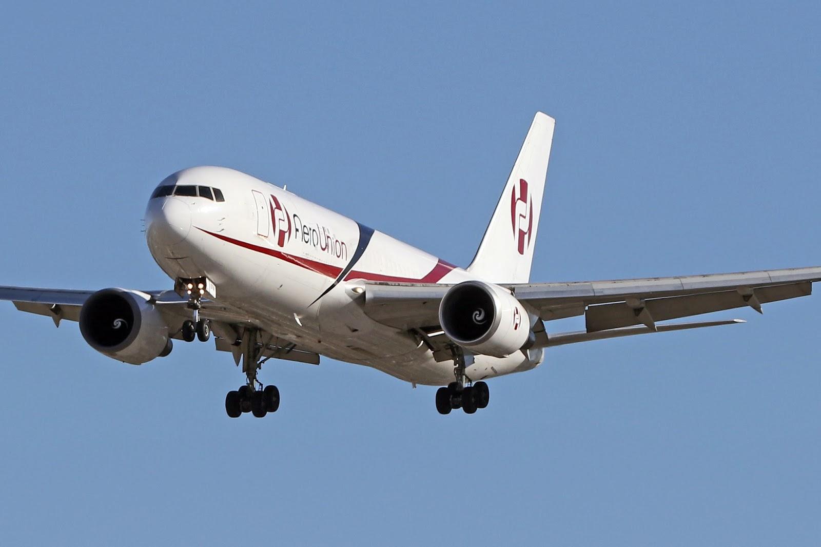 Aero Pacific Flightlines: AeroUnion Boeing 767-241(ER)(BDSF