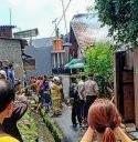 Si Jago Merah Membakar Bangunan Rumah Di Krukut Tamansari Jakbar